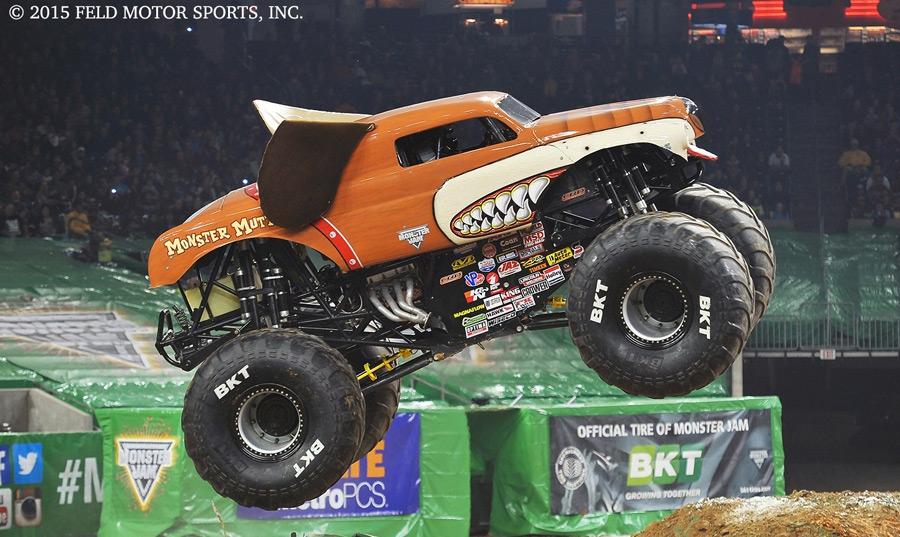 I monster Truck...